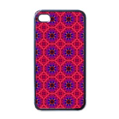 Retro Abstract Boho Unique Apple Iphone 4 Case (black)