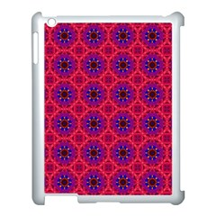 Retro Abstract Boho Unique Apple Ipad 3/4 Case (white)