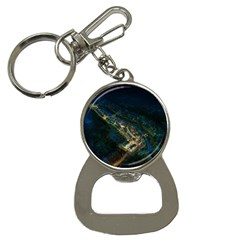 Commercial Street Night View Button Necklaces