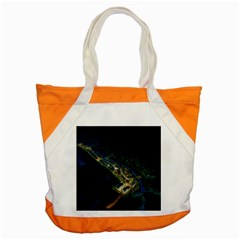 Commercial Street Night View Accent Tote Bag