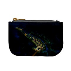 Commercial Street Night View Mini Coin Purses