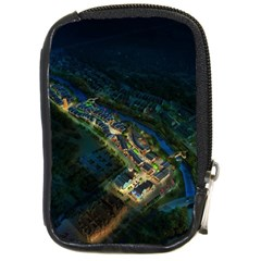 Commercial Street Night View Compact Camera Cases