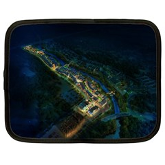 Commercial Street Night View Netbook Case (xl)