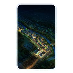 Commercial Street Night View Memory Card Reader