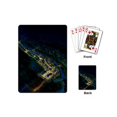 Commercial Street Night View Playing Cards (mini)