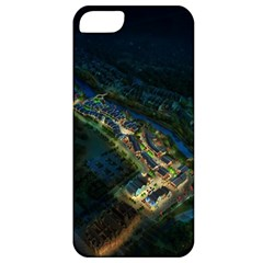 Commercial Street Night View Apple Iphone 5 Classic Hardshell Case
