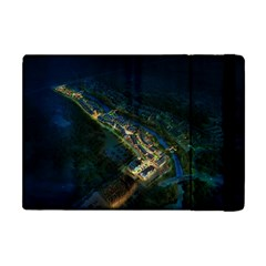 Commercial Street Night View Apple Ipad Mini Flip Case