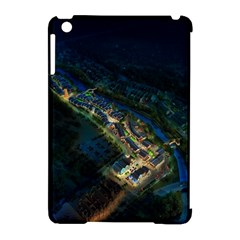 Commercial Street Night View Apple Ipad Mini Hardshell Case (compatible With Smart Cover)