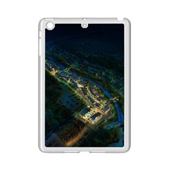 Commercial Street Night View Ipad Mini 2 Enamel Coated Cases