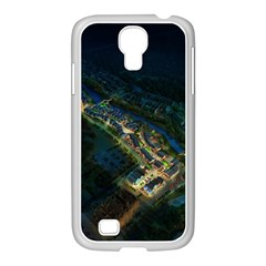 Commercial Street Night View Samsung Galaxy S4 I9500/ I9505 Case (white)
