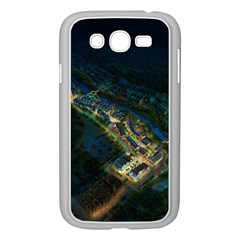 Commercial Street Night View Samsung Galaxy Grand Duos I9082 Case (white)