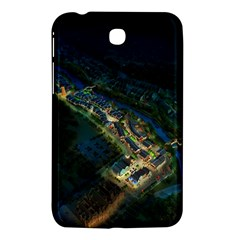 Commercial Street Night View Samsung Galaxy Tab 3 (7 ) P3200 Hardshell Case