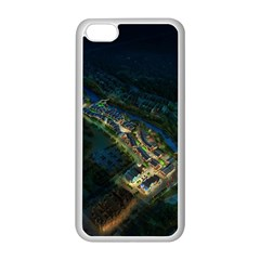 Commercial Street Night View Apple Iphone 5c Seamless Case (white)