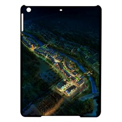 Commercial Street Night View Ipad Air Hardshell Cases