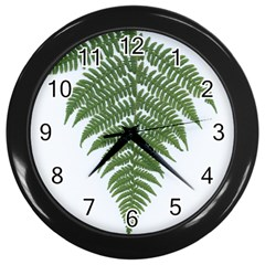 Boating Nature Green Autumn Wall Clocks (black)