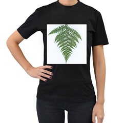 Boating Nature Green Autumn Women s T Shirt (black) (two Sided)