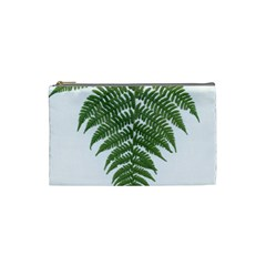 Boating Nature Green Autumn Cosmetic Bag (small)