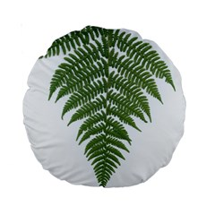 Boating Nature Green Autumn Standard 15  Premium Round Cushions