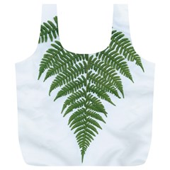 Boating Nature Green Autumn Full Print Recycle Bags (l)