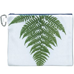 Boating Nature Green Autumn Canvas Cosmetic Bag (xxxl)