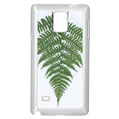 Boating Nature Green Autumn Samsung Galaxy Note 4 Case (white)