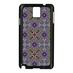 Vintage Abstract Unique Original Samsung Galaxy Note 3 N9005 Case (black)