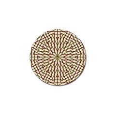 Kaleidoscope Online Triangle Golf Ball Marker (10 Pack)