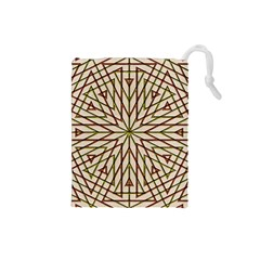 Kaleidoscope Online Triangle Drawstring Pouches (small)