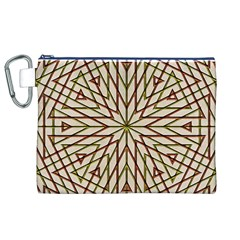 Kaleidoscope Online Triangle Canvas Cosmetic Bag (xl)