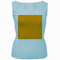 Texture Background Pattern Women s Baby Blue Tank Top