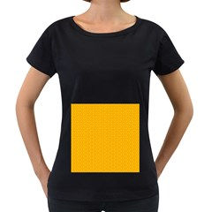 Texture Background Pattern Women s Loose Fit T Shirt (black)