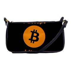 I Accept Bitcoin Shoulder Clutch Bags