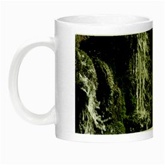 Water Waterfall Nature Splash Flow Night Luminous Mugs