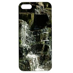Water Waterfall Nature Splash Flow Apple Iphone 5 Hardshell Case With Stand