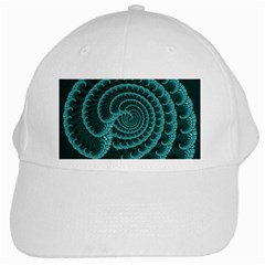 Fractals Form Pattern Abstract White Cap