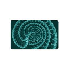 Fractals Form Pattern Abstract Magnet (name Card)