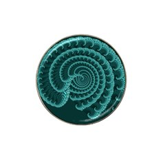 Fractals Form Pattern Abstract Hat Clip Ball Marker (10 Pack)