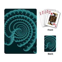 Fractals Form Pattern Abstract Playing Card