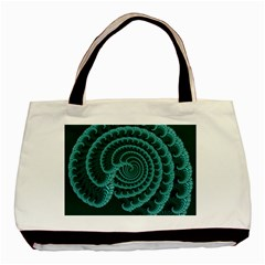 Fractals Form Pattern Abstract Basic Tote Bag
