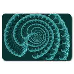 Fractals Form Pattern Abstract Large Doormat