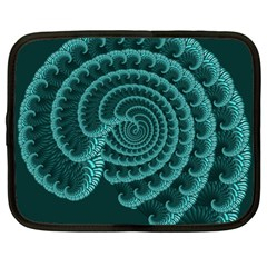 Fractals Form Pattern Abstract Netbook Case (large)