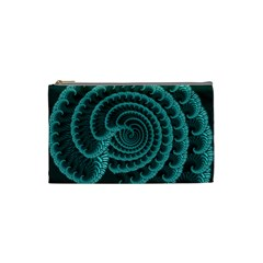 Fractals Form Pattern Abstract Cosmetic Bag (small)