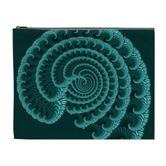 Fractals Form Pattern Abstract Cosmetic Bag (xl)