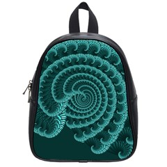 Fractals Form Pattern Abstract School Bag (small)