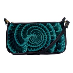 Fractals Form Pattern Abstract Shoulder Clutch Bags