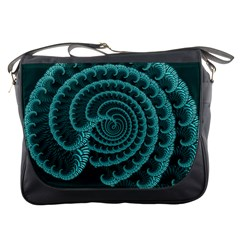 Fractals Form Pattern Abstract Messenger Bags