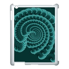 Fractals Form Pattern Abstract Apple Ipad 3/4 Case (white)