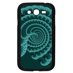 Fractals Form Pattern Abstract Samsung Galaxy Grand Duos I9082 Case (black)