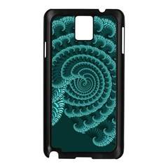 Fractals Form Pattern Abstract Samsung Galaxy Note 3 N9005 Case (black)
