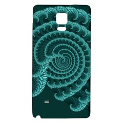 Fractals Form Pattern Abstract Galaxy Note 4 Back Case